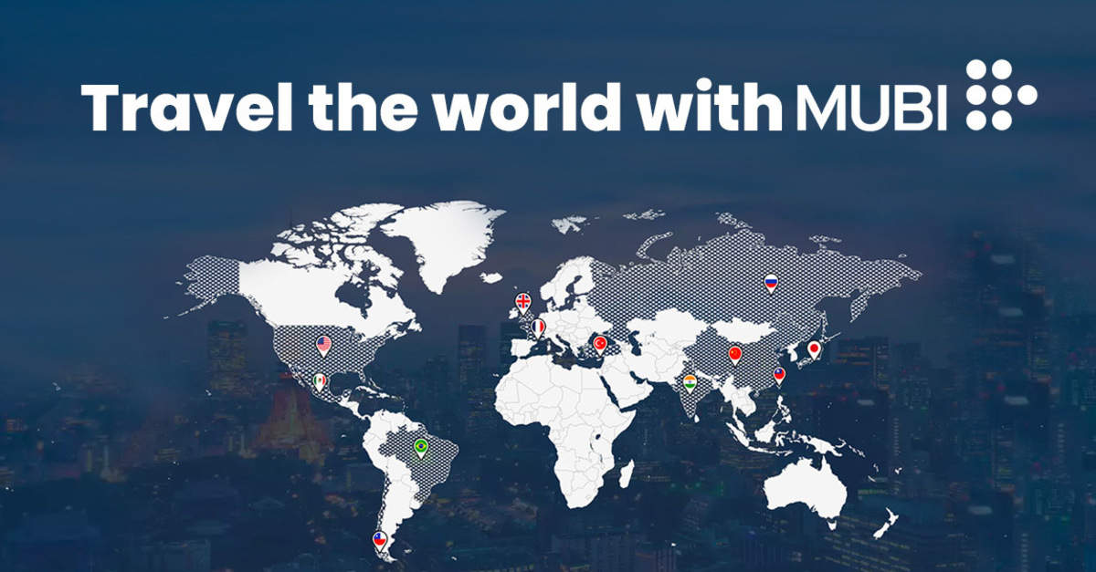 Travel the world with Mubi