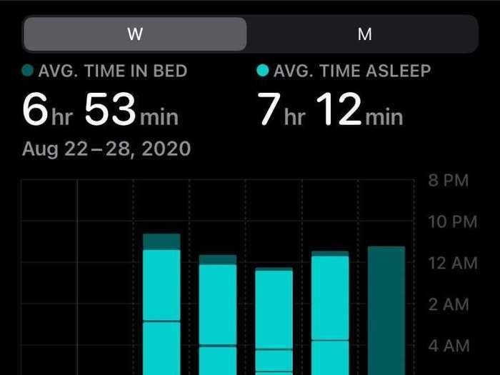 Better sleep tracking