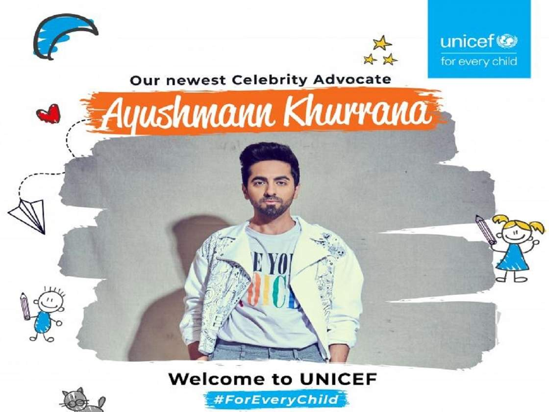 Ayushmann Khurrana joins hands with UNICEF India to advocate for child  rights | Business Insider India
