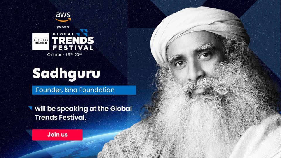 Sadhguru Jaggi Vasudev at Global Trends Festival 2020: Simplifying Sustainability