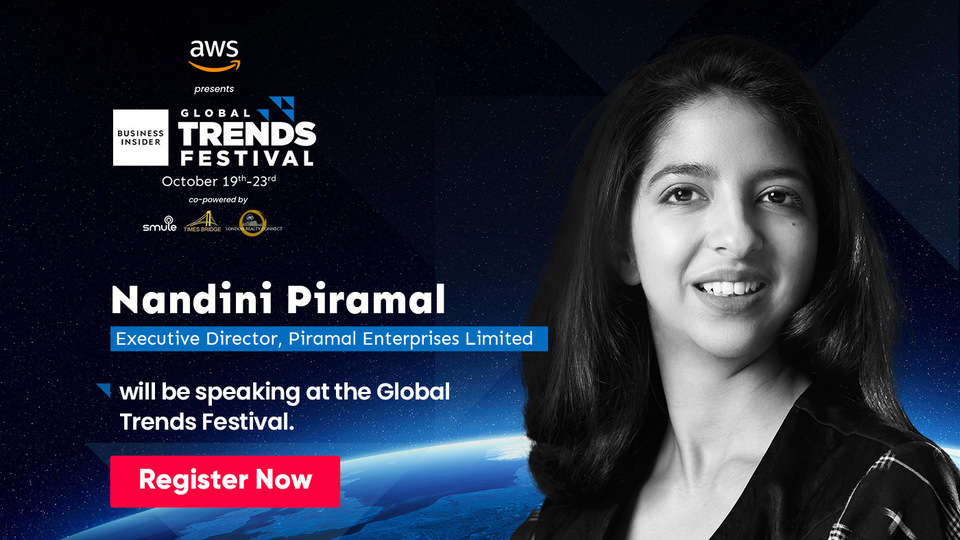 Watch out for Nandini Piramal on breaking barriers, and transforming businesses at the Global Trends Festival 2020