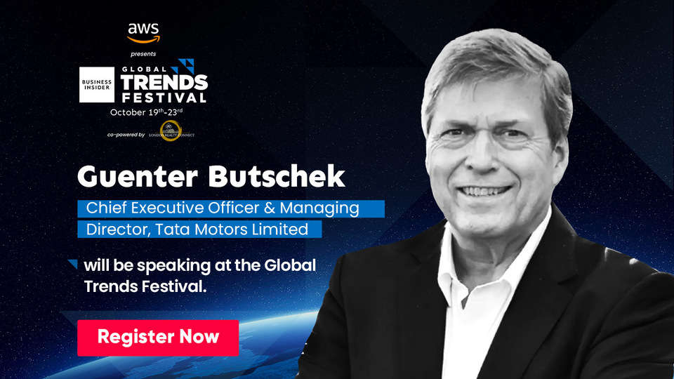 Guenter Butschek will speak about the much needed electric push towards a greener future at the Global Trends Festival