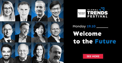 """Welcome to the future"" – The first day of the Business Insider Global Trends Festival discusses the impact of the coronavirus pandemic on business"