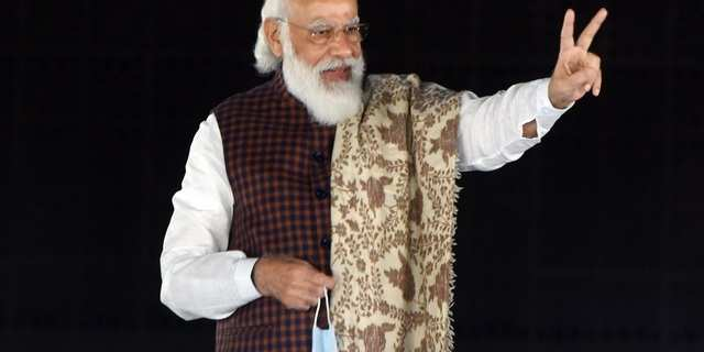 Narendra Modi was the seventh most Tweeted about person in the world in 2020