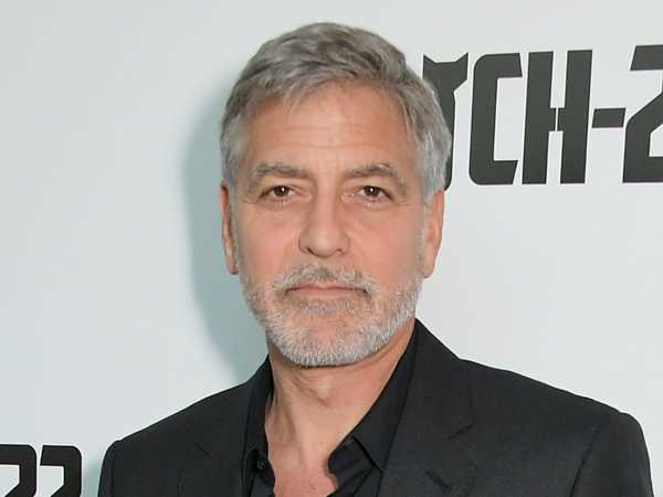 George Clooney was hospitalized for days while filming ...