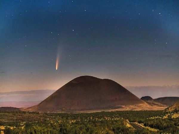 Gökbilimci, tam güneş tutulması sırasında güneşe yakın nadir bir kuyruklu yıldız keşfetti