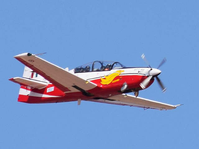 10. Hindustan Aeronautics Limited (HAL) received a request for proposal (RFP) for its HTT- 40 trainer aircraft from India's Ministry of Defence (MoD)