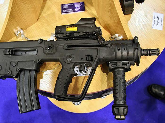 1. India-made Israeli Tavor X 95 rifles