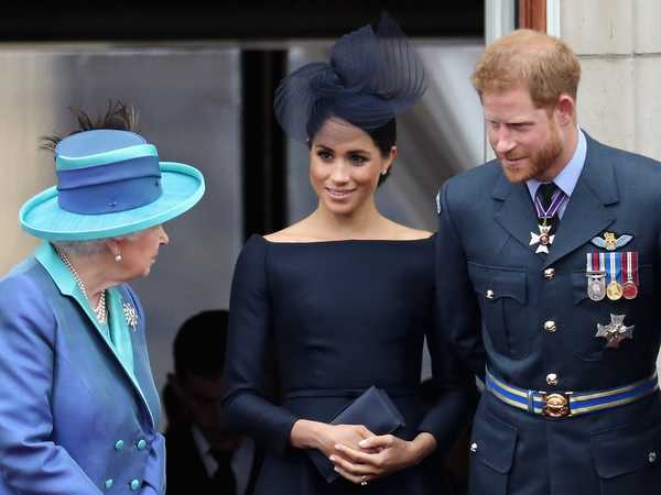 The Queen to speak on TV hours before Meghan Markle and Prince Harry's bombshell interview with Oprah
