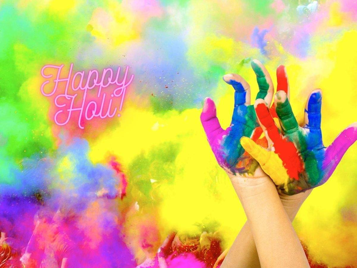 Here are some wonderful Happy Holi 2021 wishes and messages you can send to  your friends and family | Business Insider India