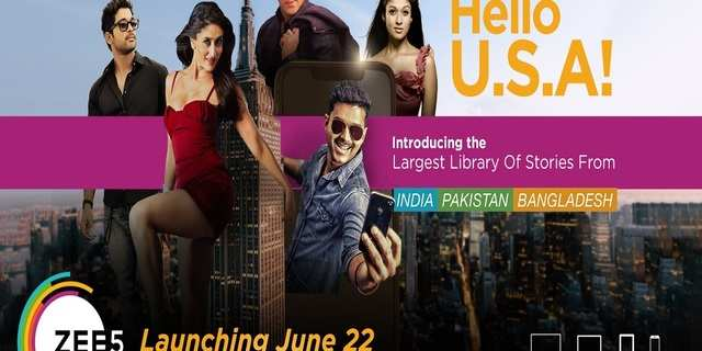 ZEE5 to foray into the US market, set to launch on June 22