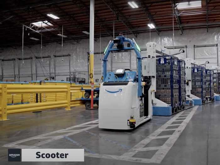 """Amazon's """"robotics and advanced technology"""" division is now testing new tech, including robots and motion sensors, to make its warehouses safer, the company announced on June 13."""