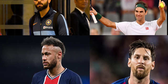 Lionel Messi is the most publicised sports star online in the world; Virat Kohli holds the sixth spot: report