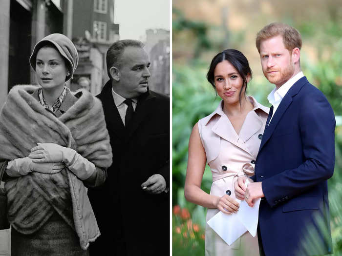 Grace Kelly and Meghan Markle were both born in the United States and married foreign royals.