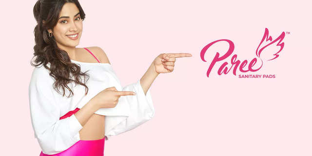 Janhvi Kapoor to be the new face of feminine hygiene brand Paree Sanitary Pads