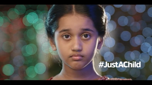 Ministry of Women and Child Development and Akshara Centre launch a new ad that urges the audience to report child marriages at 1098