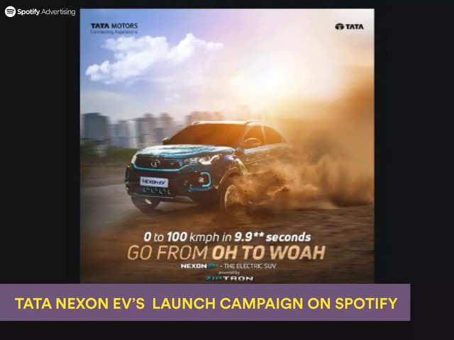 Tata Nexon EV electrifies its launch campaign with Spotify India