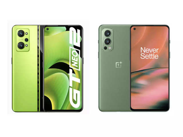 Realme GT Neo 2 vs OnePlus Nord 2: Price, specs and features compared