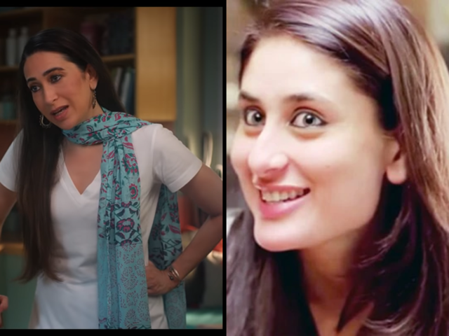 When Karisma Kapoor played Geet from Jab We Met for Dunzo Daily